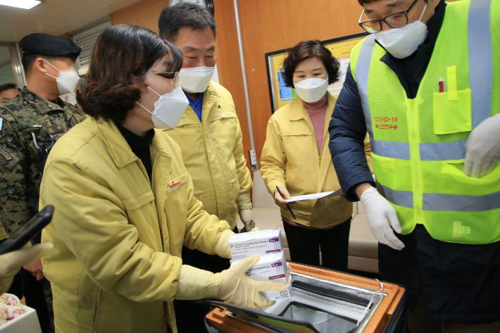전남 무안군, 3월 2일부터 코로나 예방 백신 접종