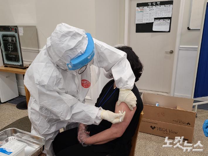 광주전남 코로나19 첫 백신 접종 '순조'