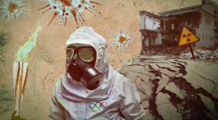 [그래?픽!]코로나·강진…日 '저주받은 올림픽' 누명 벗을까