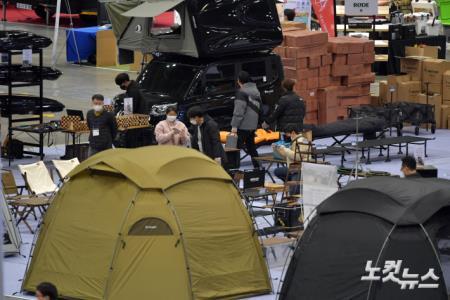 캠핑에 대한 높아진 관심