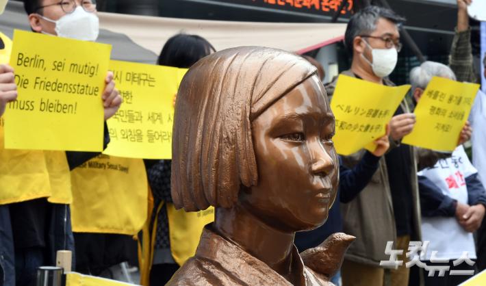 여성단체들, 일본군위안부 문제해결 촉구 연대성명