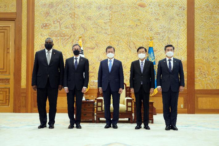 북미 긴장 재개 속 한미공조 안전판 '청신호'