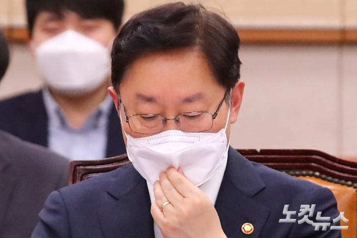 박범계, '한명숙 사건 무혐의' 수용하나…오늘 오후 입장발표