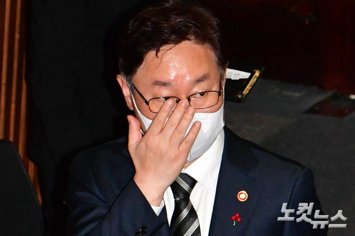 """[속보]박범계 """"한명숙 사건처리부터 대검 회의내용 유출 전반 합동감찰"""""""