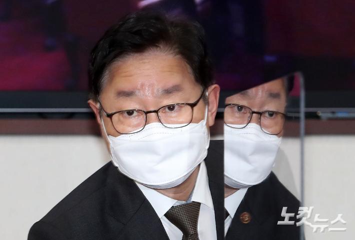 朴, '한명숙 사건' 檢 결론 뒤집기 대신…고강도 합동감찰 '견제구'