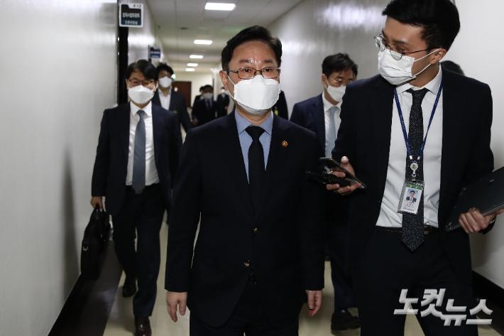 박범계, 합동감찰 카드로 '한명숙 사건 檢 결론' 비판적 수용