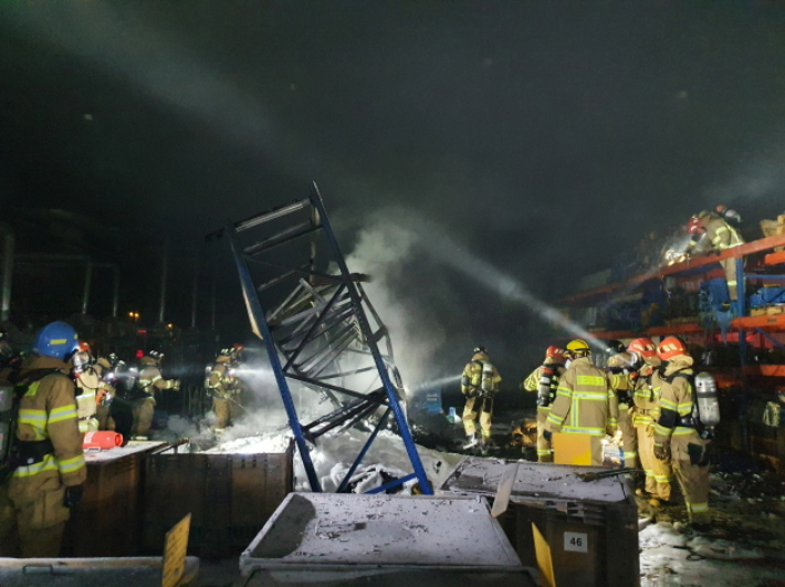 밤사이 충남·대전서 화재