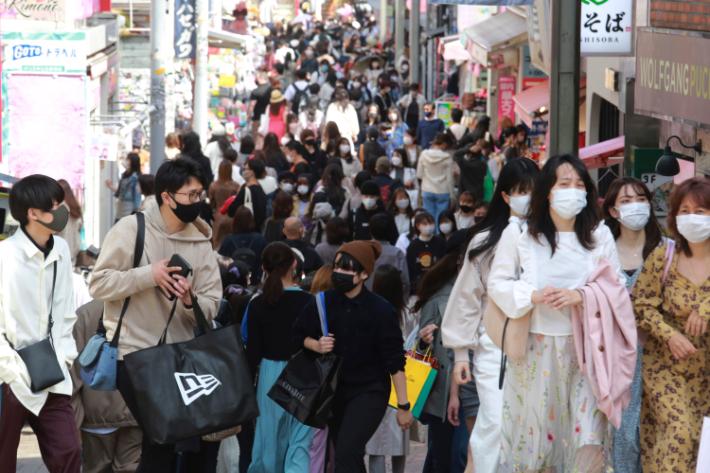 도쿄 긴급해제 이후 이틀연속 확진자 첫 500명 초과