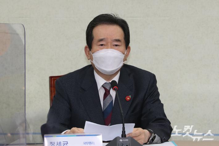"""정총리 """"日 오염수 방출 무책임…또 다른 역사적 과오"""""""