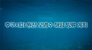 [그래픽뉴스]日 후쿠시마 원전 오염수 해양 방류 계획