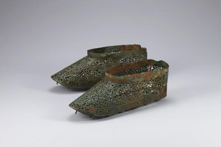 1500년 전 백제 시대 금동신발, 보물 됐다