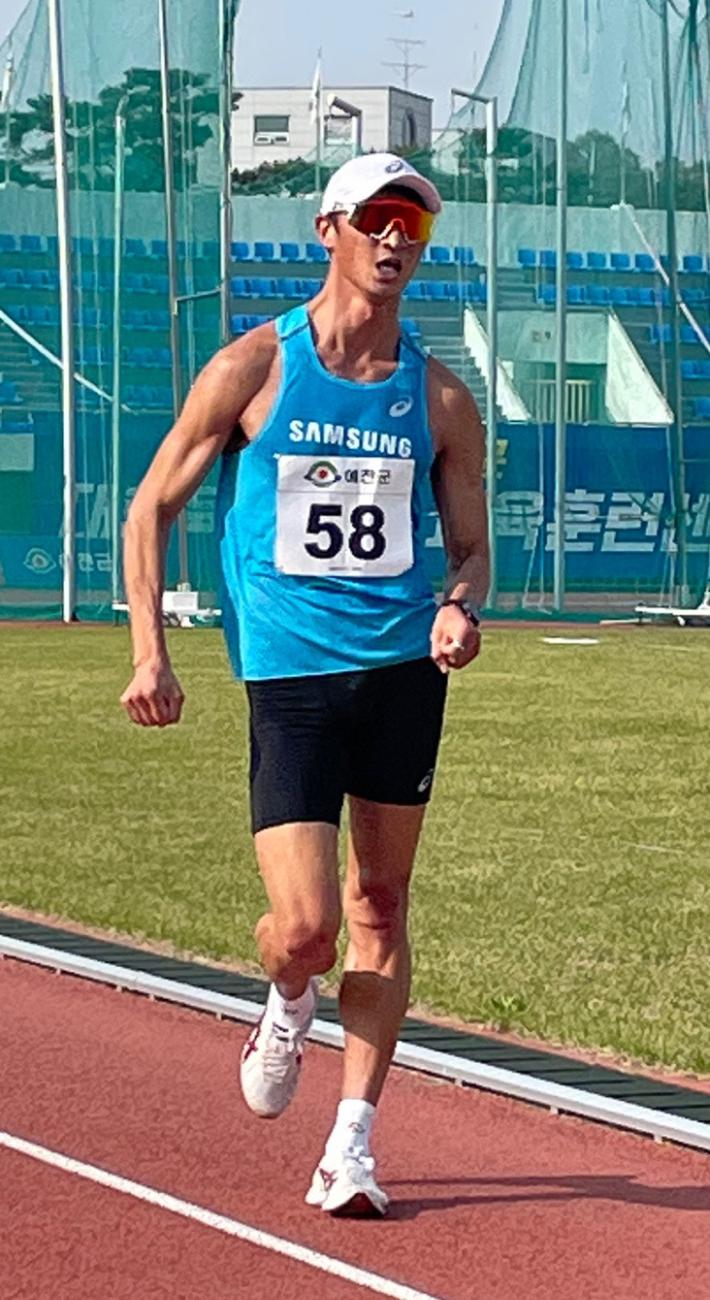 최병광, 올림픽 앞서 남자 경보 1만m 한국신기록