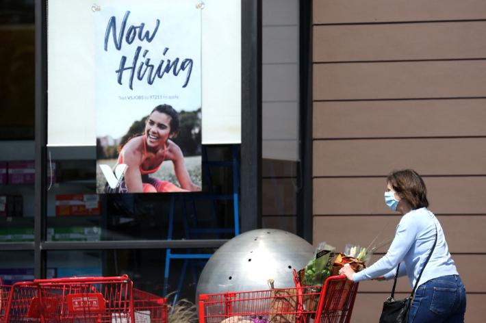 美 실업수당 55만건…코로나 이후 최저 기록