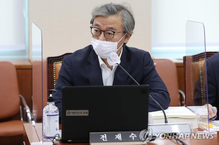 """전재수 """"의총 분위기? '임·노·박 기회주자' 압도적"""""""