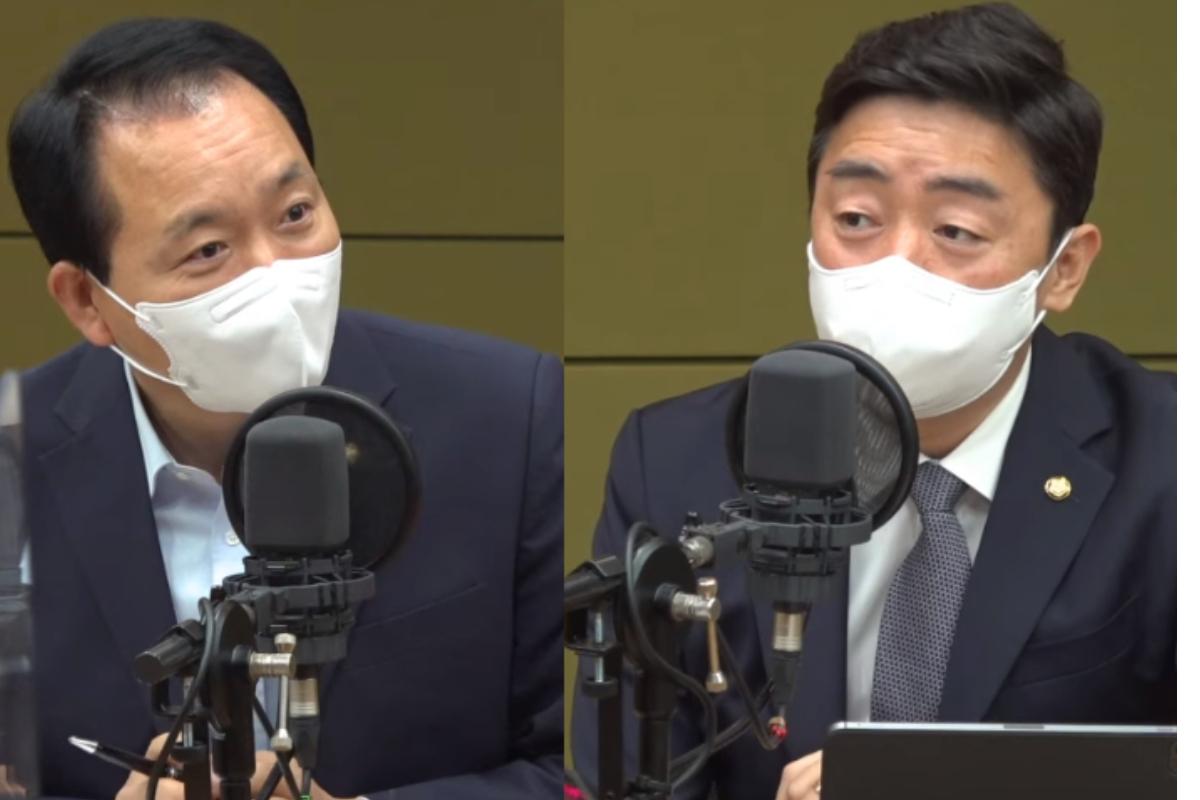"""강훈식 """"신상털기 청문회 하한가""""vs성일종 """"文 오기 하한가"""""""