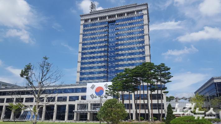 [속보]경찰 전북도청 압수수색…투기 의혹 관련