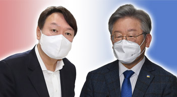 윤석열 40.2% vs 이재명 37.4%[그래픽뉴스]