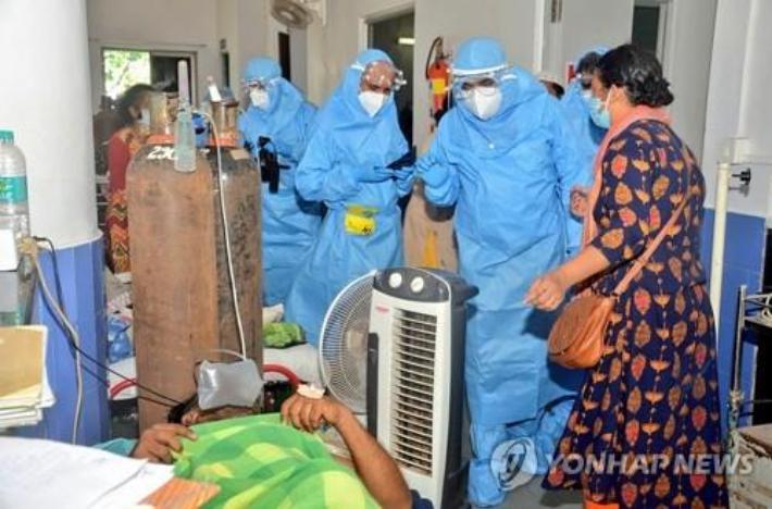 인도 휴양지 병원 '산소부족' 참사…4일간 환자 75명 사망