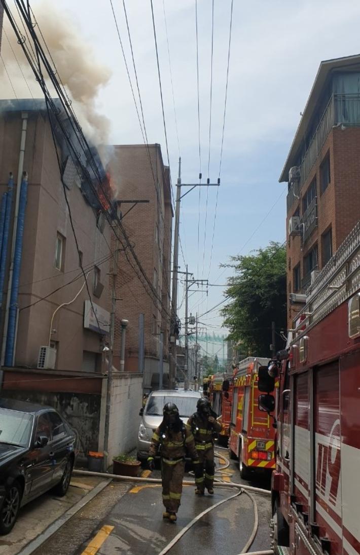 주말 서울 성북구 주택가서 불…80대 1명 사망