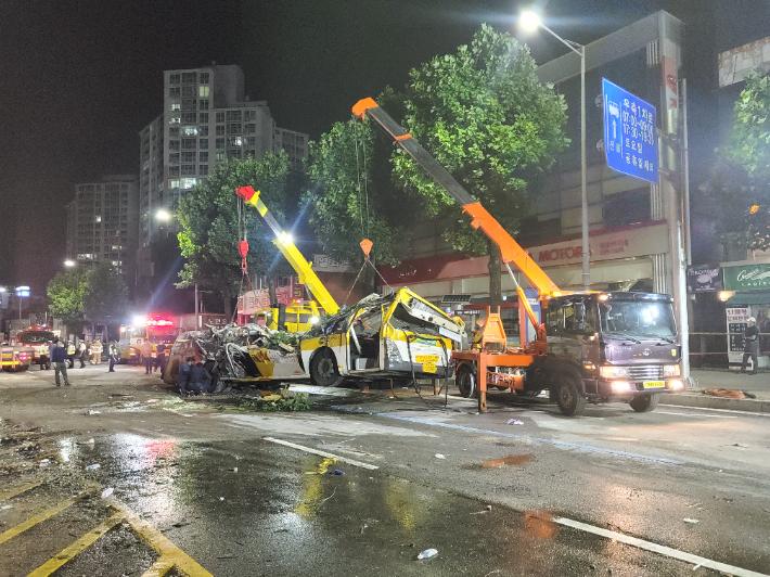 '광주 건물 붕괴' 경찰, 감리 소홀히 한 감리자도 구속영장 목록 이미지