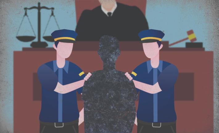 식사 자리에서 지인 아들 추행한 40대女 '징역형'