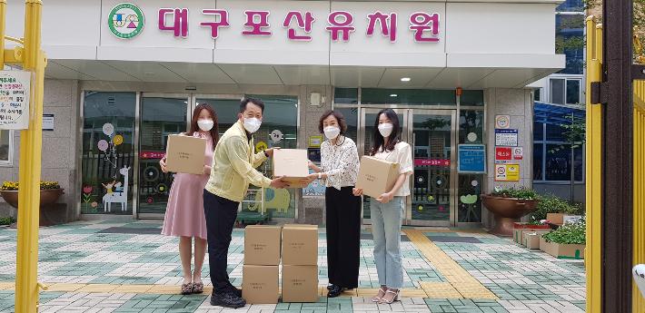 대구시교육청 학생·교직원용 마스크 111만여 장 지원