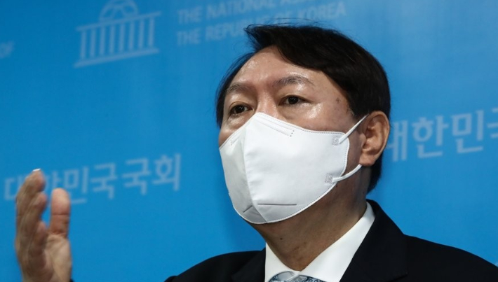 윤석열 전 검찰총장. 연합뉴스