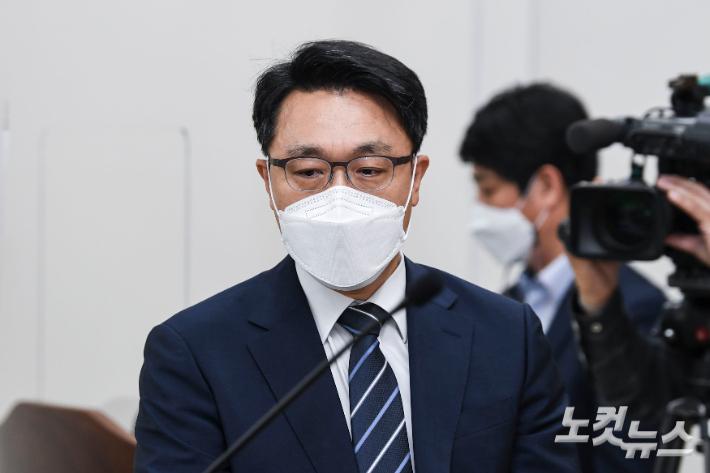 김진욱 고위공직자범죄수사처장. 이한형 기자