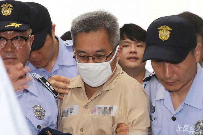 댓글조작 의혹 관련 혐의를 받고 있는 '드루킹' 김모씨. 박종민 기자
