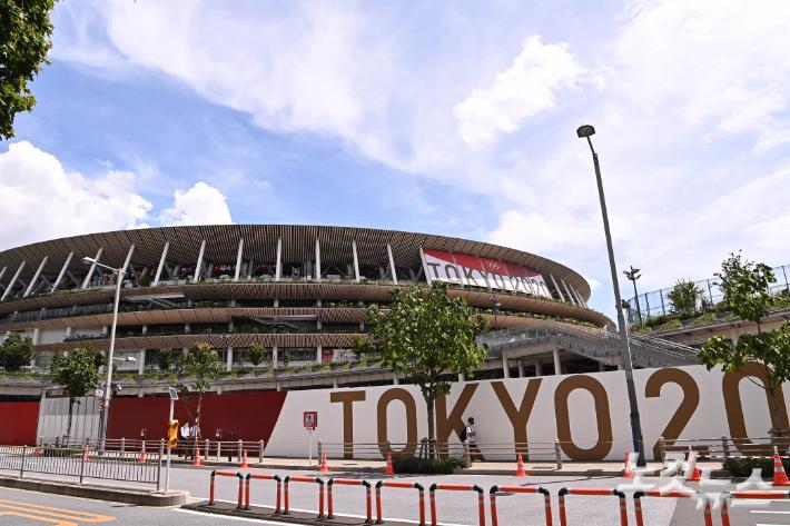 오는 23일 도쿄올림픽 개막식이 열리는 도쿄 신주쿠구 도쿄올림픽스타디움. 올림픽사진공동취재단