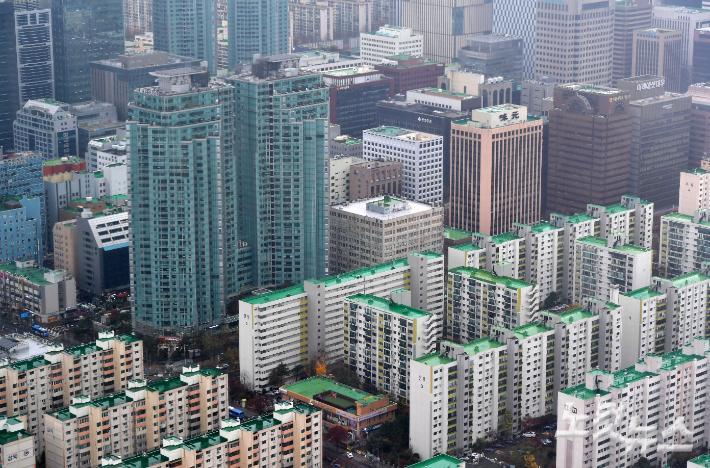 서울 도심 아파트 모습. 박종민 기자