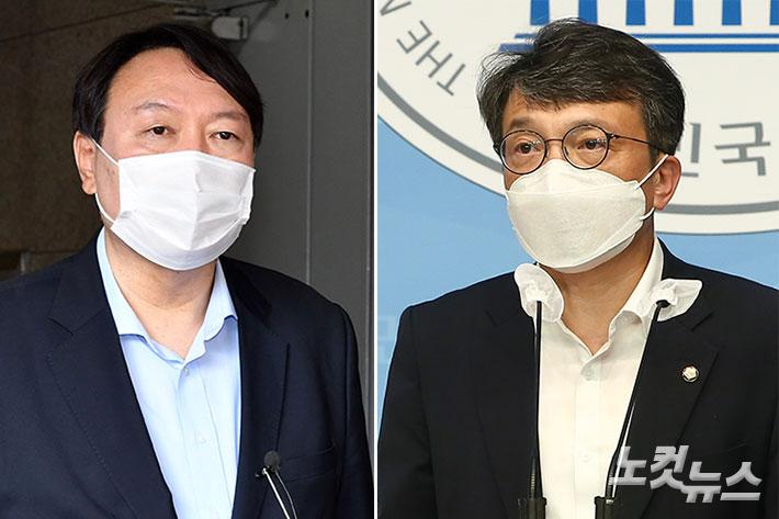 """김건희 전시 이력 허위 의혹…윤석열 """"아니다"""" vs 김의겸 """"눈속임""""[이슈시개]"""