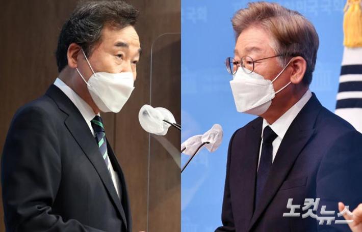 이재명-이낙연, 이번엔 경기도 '남북분할' 문제로 충돌