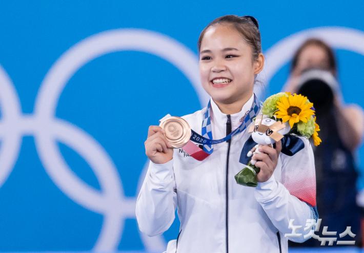 여서정의 '여서정'으로 동메달…25년 전 아버지 영광 재현[도쿄올림픽]