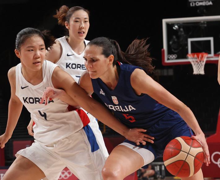 """""""아시아 女농구가 이 정도라고?"""" 한국에 놀란 유럽 챔피언  [도쿄올림픽]"""