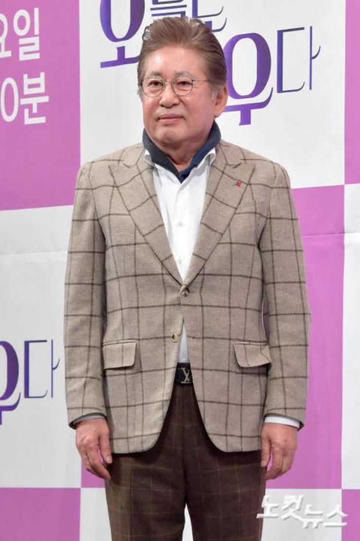 배우 김용건, 39세 연하 여성과 임신·출산 갈등