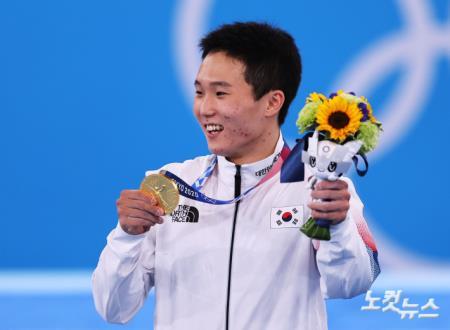 도마 신재환 금메달 획득