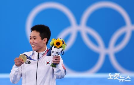 올림픽 정상 오른 신재환