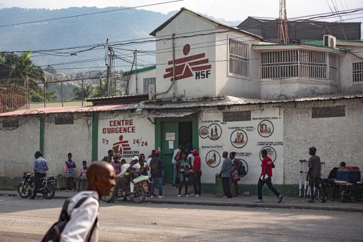 갱단 폭력때문에…국경없는의사회, 아이티서 병원 폐쇄