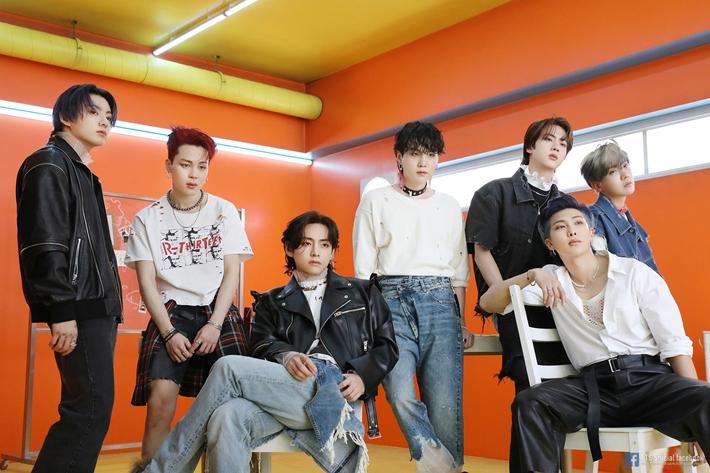 BTS '버터', 올해 빌보드 '핫 100' 최다 1위 곡 등극