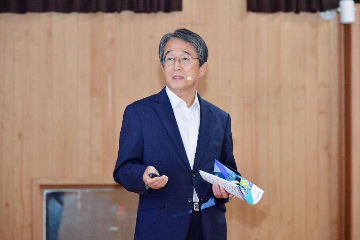 김태석 부산 사하구청장. 부산 사하구청 제공