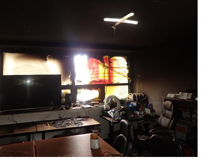 부산 학원서 '폭발'로 불…인명피해 없어