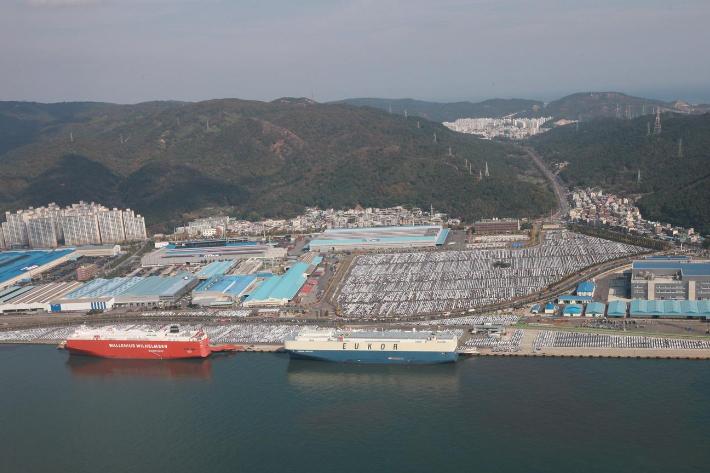 울산 8월 수출 호조…자동차·선박 등 주력산업 선전