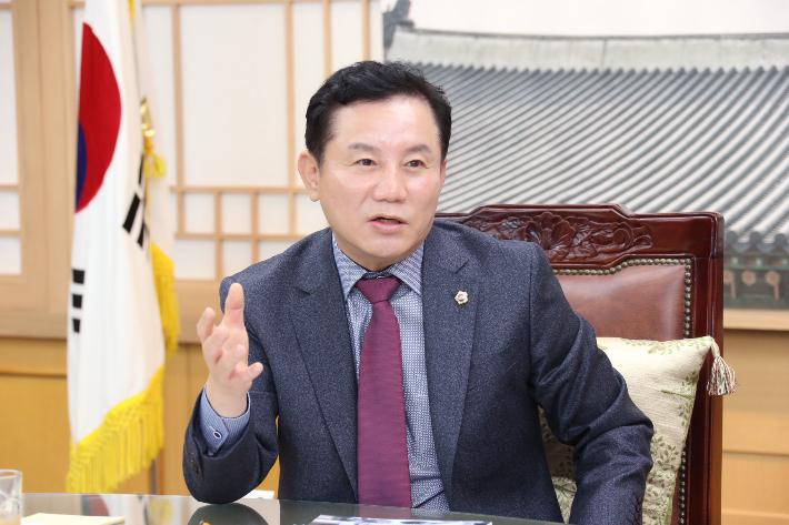 송지용 전북도의장, 지방의회 독립성 강조