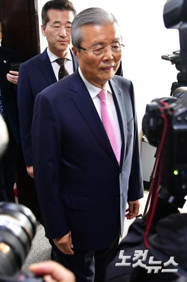 미래통합당 김종인 총괄선대위원장 총선 결과 관련 특별 기자회견