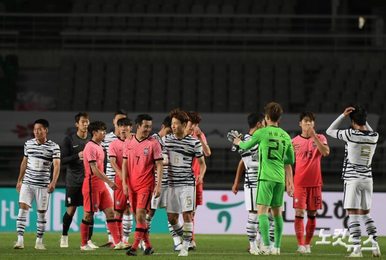 하나은행컵, A대표팀 승리