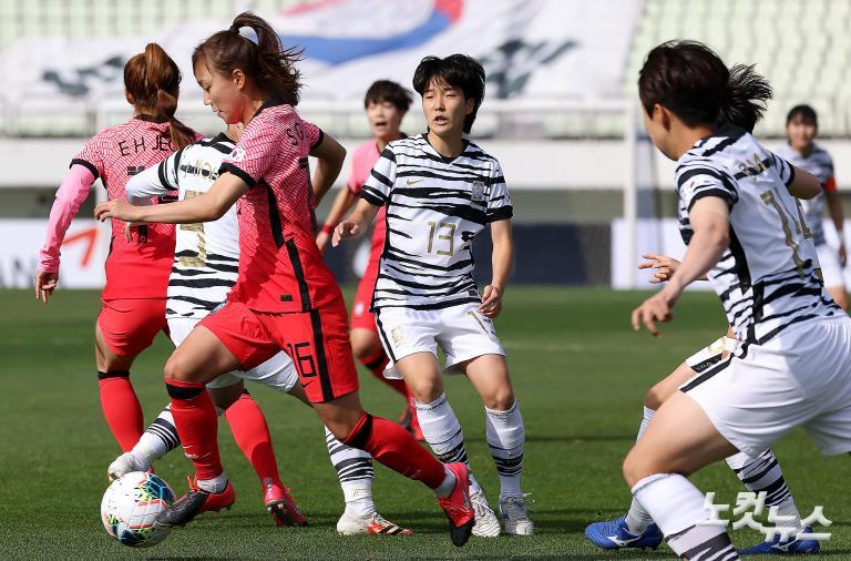 여자 국가대표팀과 여자 U-20대표팀 스페셜매치