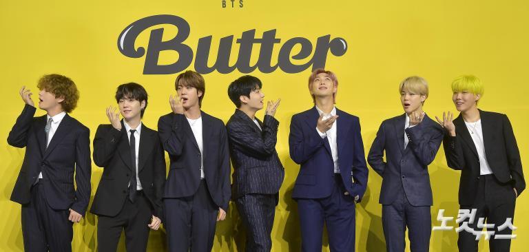 디지털 싱글 '버터'로 돌아온 BTS